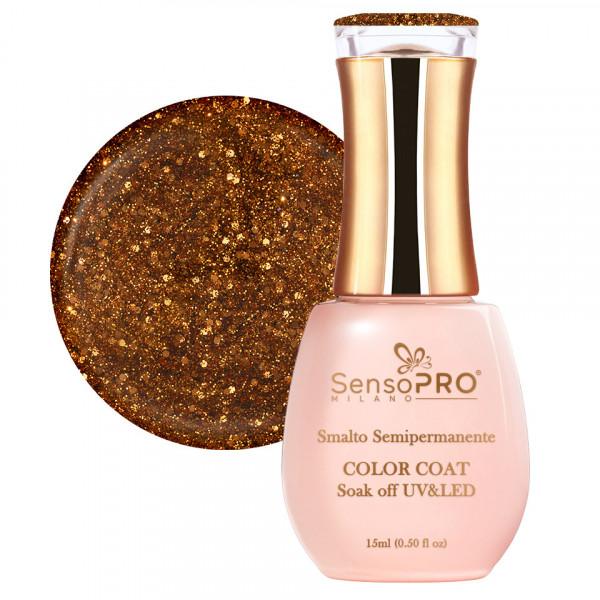 Poze Oja Semipermanenta SensoPRO 15ml culoare Auriu - 020 Copper