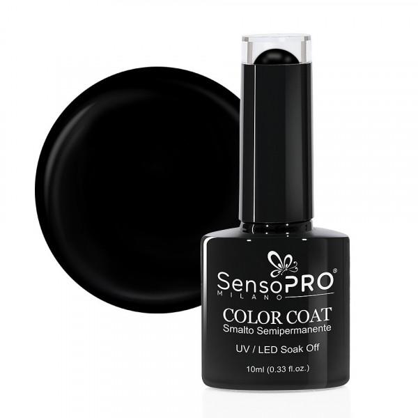 Poze Oja Semipermanenta SensoPRO Milano 10ml - 002 Black Onyx