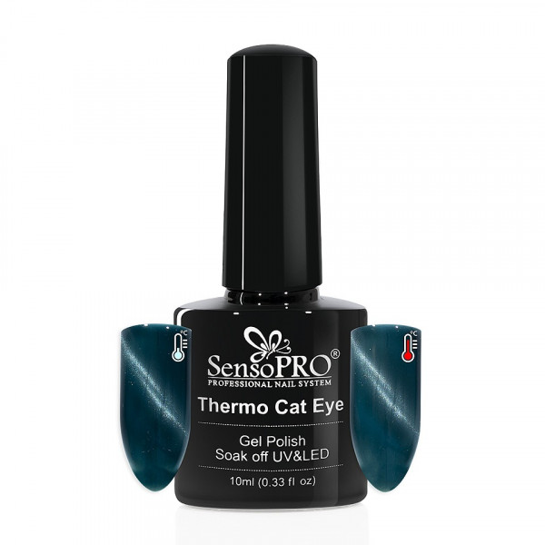 Poze Oja Semipermanenta Thermo Cat Eye SensoPRO 10 ml, #24