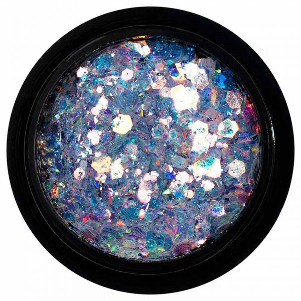 Poze Paiete Holografice Unghii LUXORISE Disco Lights YJ04