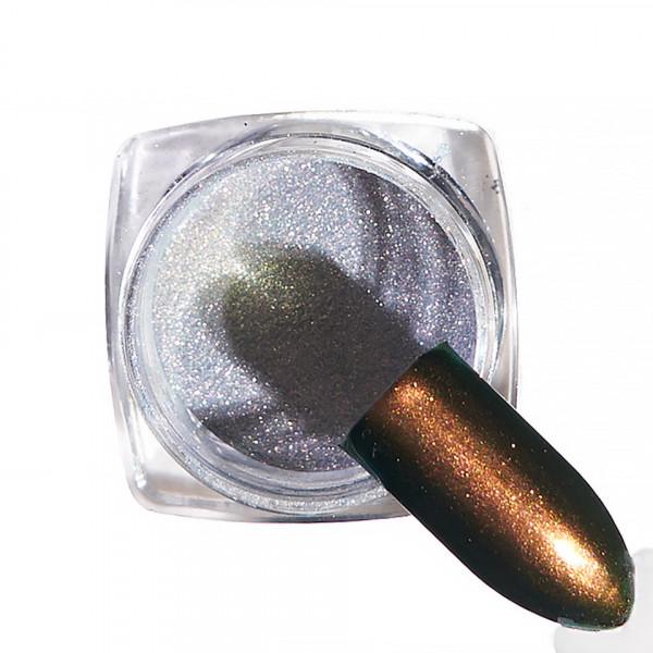 Poze Pigment unghii Chrome #58 cu aplicator - LUXORISE