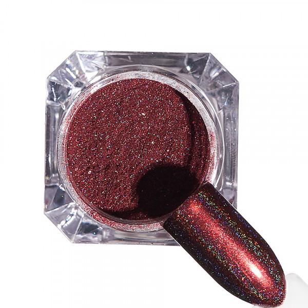 Poze Pigment unghii Holografic #88 cu aplicator - LUXORISE