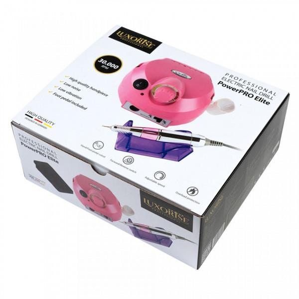Poze Pila electrica profesionala PowerPRO Elite - LUXORISE Germania, 30.000 RPM, Pink