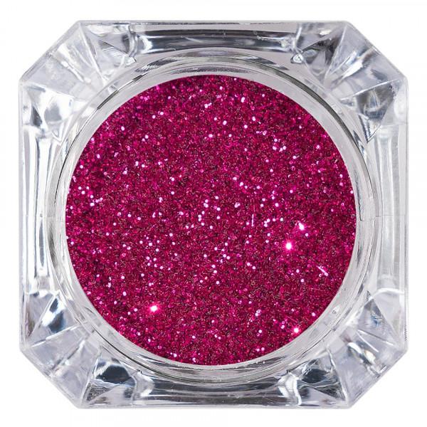 Poze Sclipici Glitter Unghii Pulbere LUXORISE, Trandafiriu #27