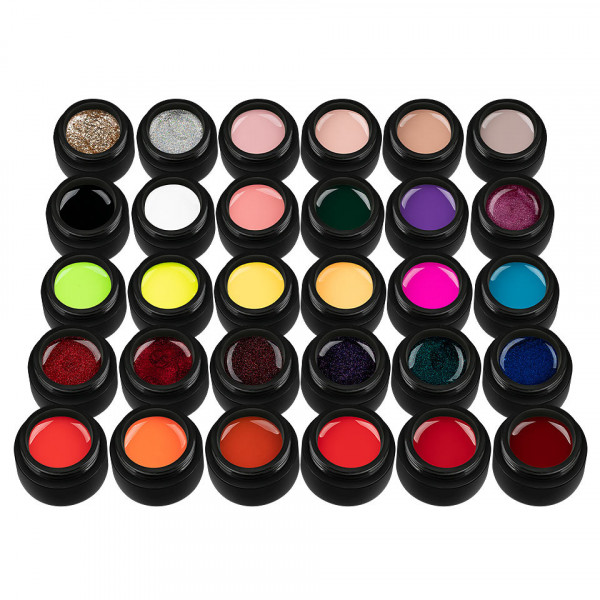 Poze Set 30 Geluri UV Colorate Master Top Collection, SensoPRO Milano