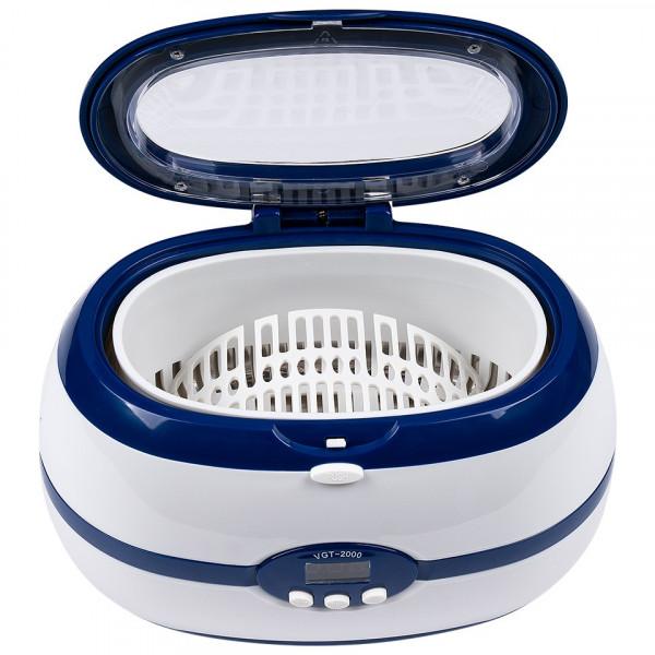 Poze Sterilizator Ultrasonic Curatare Ustensile VGT-2000 600 ml, Albastru