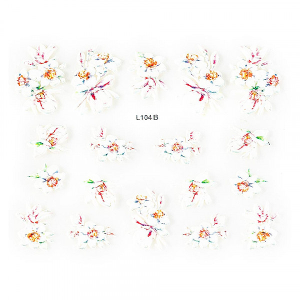 Poze Sticker 3D Unghii LUXORISEArtistry L104B