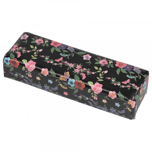 Poze Suport Mana Manichiura Black Flowers