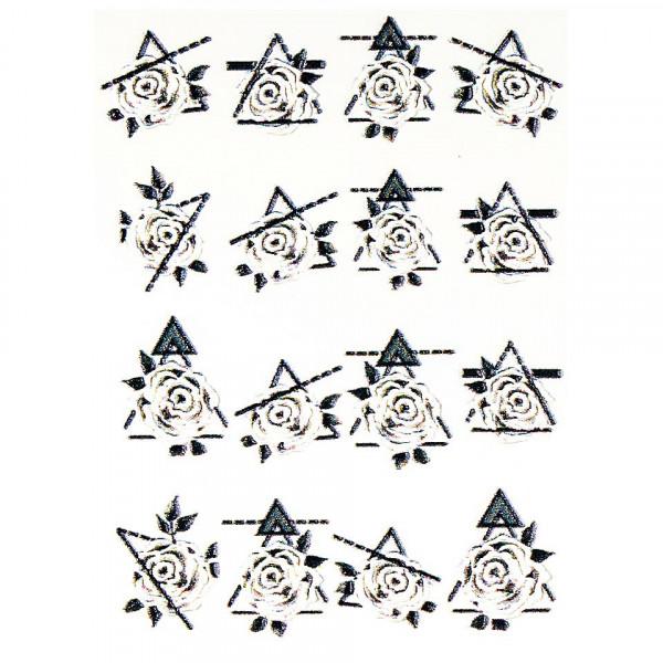 Poze Tatuaj 3D Unghii LUXORISE 1007-41