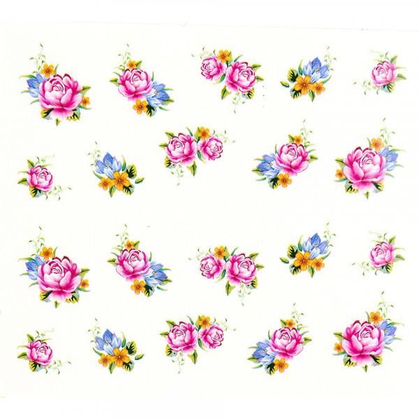 Poze Tatuaj unghii A032 flori