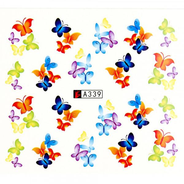 Poze Tatuaj unghii A339 fluturi