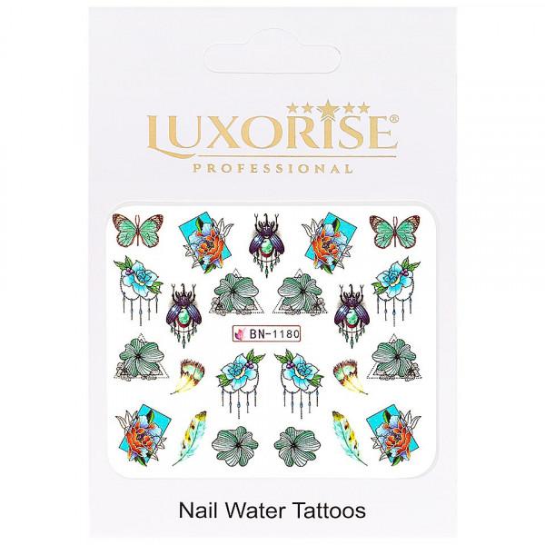 Poze Tatuaj unghii LUXORISE, Butterfly BN-1180
