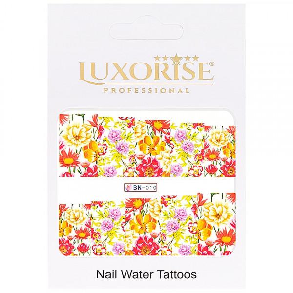 Poze Tatuaj unghii LUXORISE, Nature BN-010