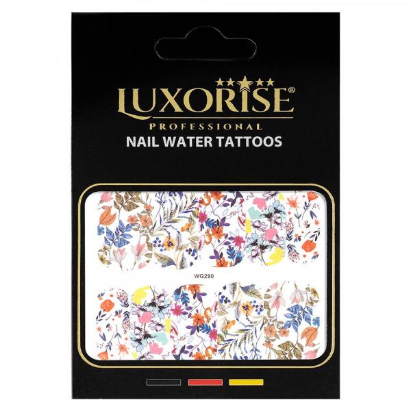 Poze Tatuaj unghii LUXORISE, Nature WG290