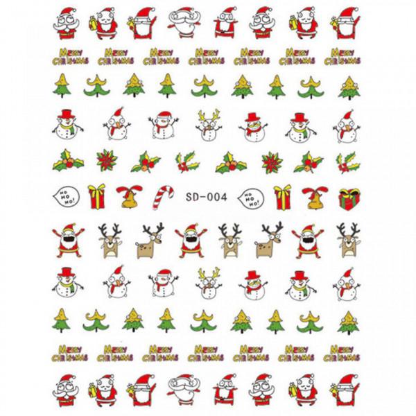 Poze Abtibild unghii SD-004 Jingle Bells