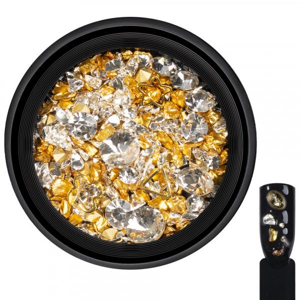 Poze Cristale Unghii Royal Luxe #01 - LUXORISE Germania