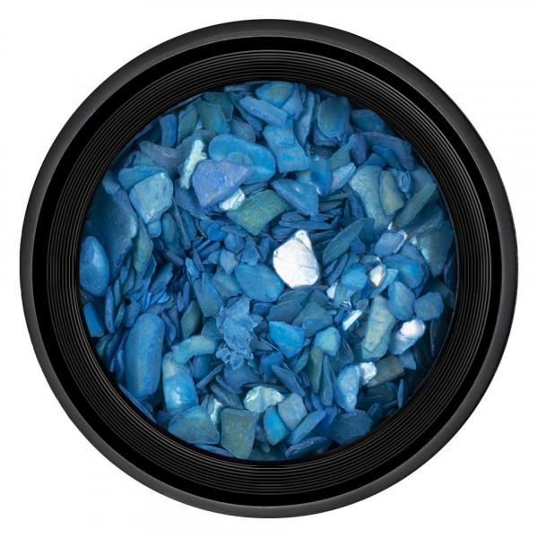 Poze Decor Unghii tip Scoica Pisata LUXORISE - Blue Sea