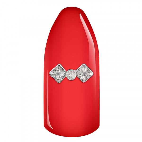 Poze Decoratiune Unghii 3D - Diamond Bow