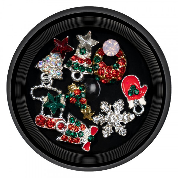 Poze Decoratiuni Unghii Christmas Spirit LUXORISE 01