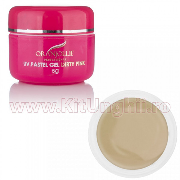 Poze Gel UV Dirty Pink