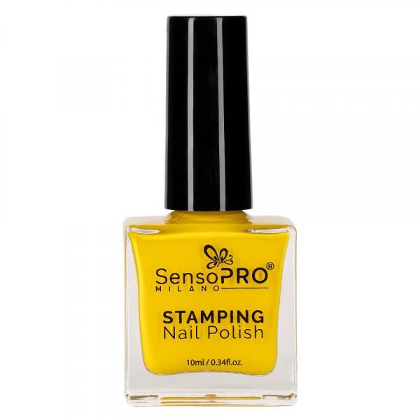 Poze Kit Nail Art cu Stampila, Oja SensoPRO, Matrita - Hollywood Nails