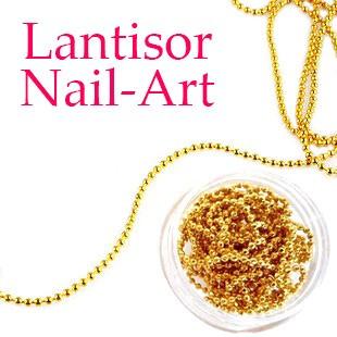Poze Lantisor unghii Auriu, 1 buc.