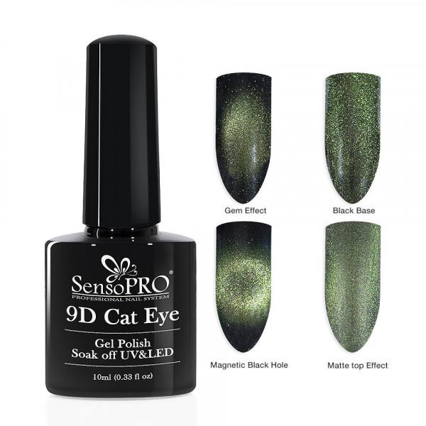 Poze Oja Semipermanenta 9D Cat Eye #06 Alhena - SensoPRO 10 ml