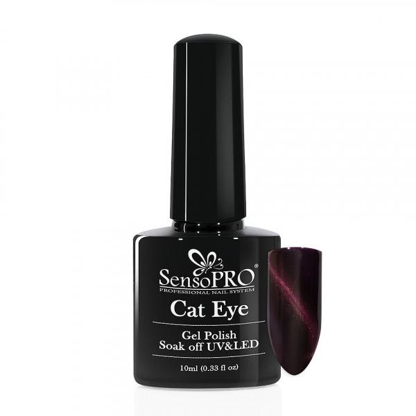 Poze Oja Semipermanenta Cat Eye SensoPPRO 10ml - #030 PoppyPlum