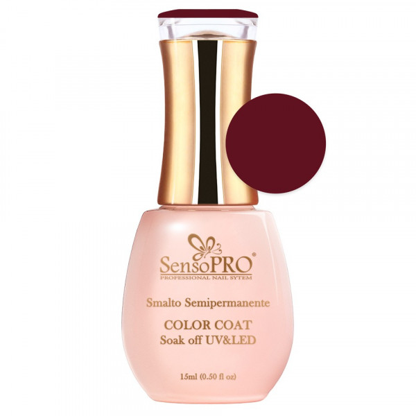 Poze Oja Semipermanenta SensoPRO 15ml culoare Visiniu - 050 Magic Cherry