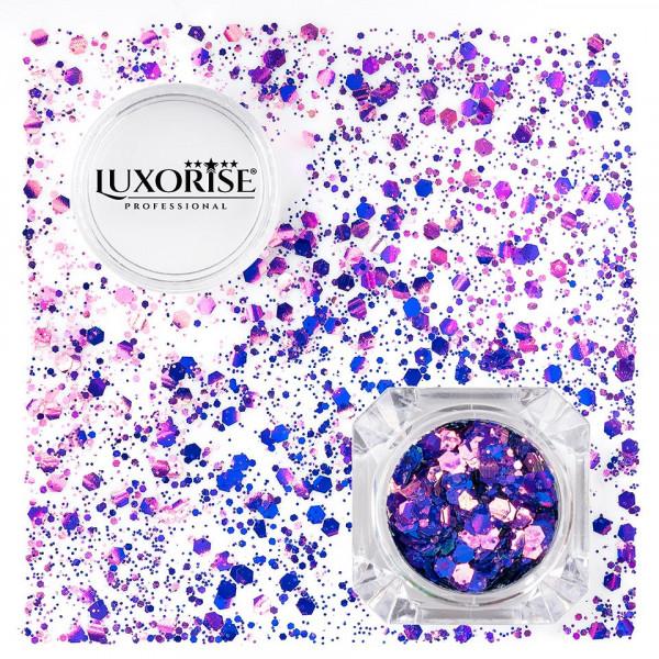 Poze Paiete Unghii LUXORISE Disco Lights #13