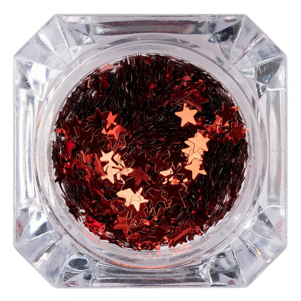 Poze Paiete Unghii LUXORISE Shiny Stars #07