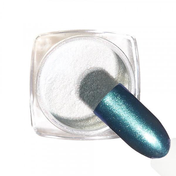 Poze Pigment unghii Chrome #132 cu aplicator - LUXORISE