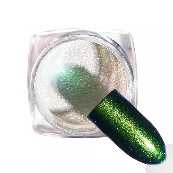 Poze Pigment unghii Chrome #59 cu aplicator - LUXORISE