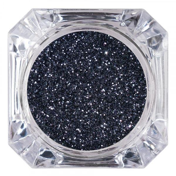 Poze Sclipici Glitter Unghii Pulbere LUXORISE, Dark Grey #05