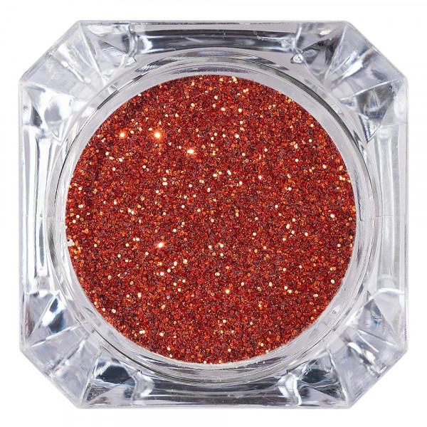 Poze Sclipici Glitter Unghii Pulbere LUXORISE, Orange Red #32