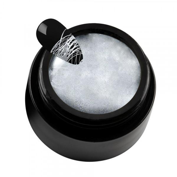 Poze Spider Gel SensoPRO Milano Metallic Silver, 5 ml