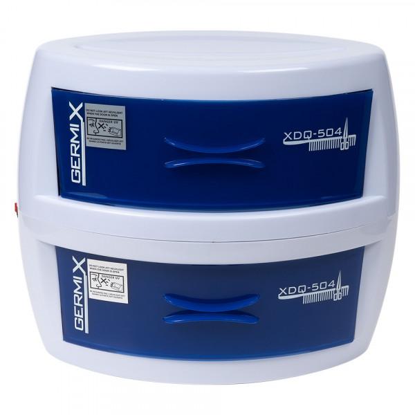 Poze Sterilizator UV Germix cu 2 sertare pentru ustensile manichiura si coafor