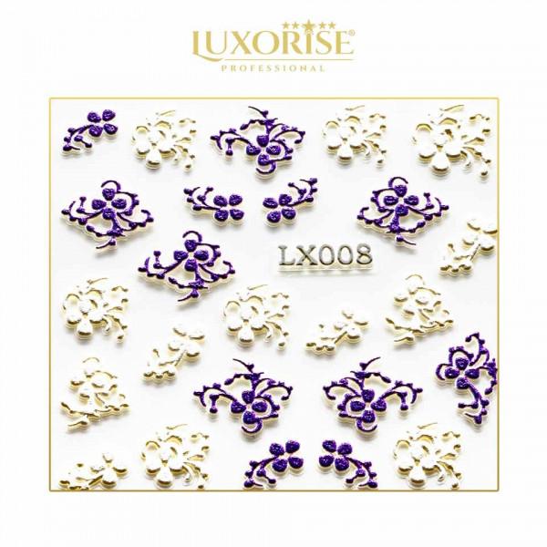 Poze Sticker 3D Unghii LUXORISE Adventure LX008