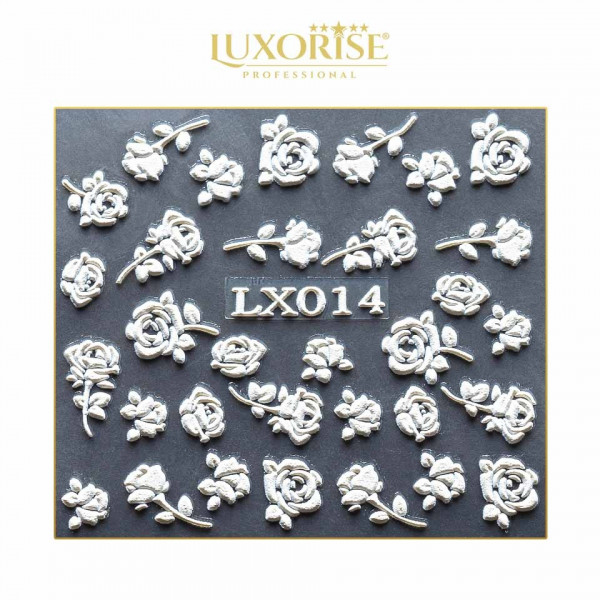 Poze Sticker 3D Unghii LUXORISE Artistry LX014