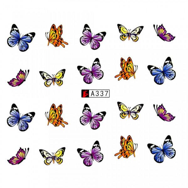Poze Tatuaj unghii A337 fluturi