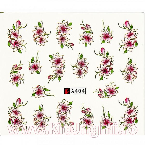 Poze Tatuaj unghii A404 flori