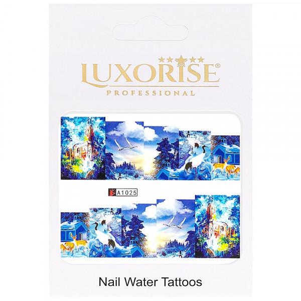 Poze Tatuaj unghii LUXORISE, City A1025
