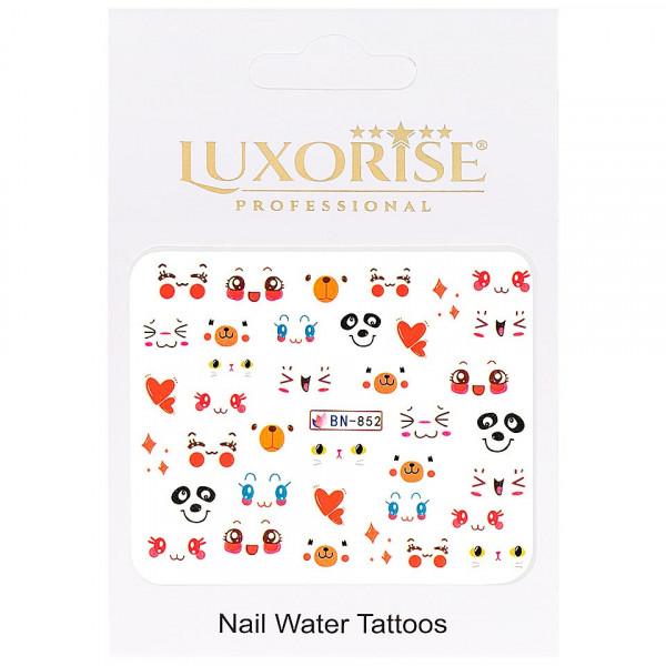 Poze Tatuaj unghii LUXORISE, Emotions BN-852