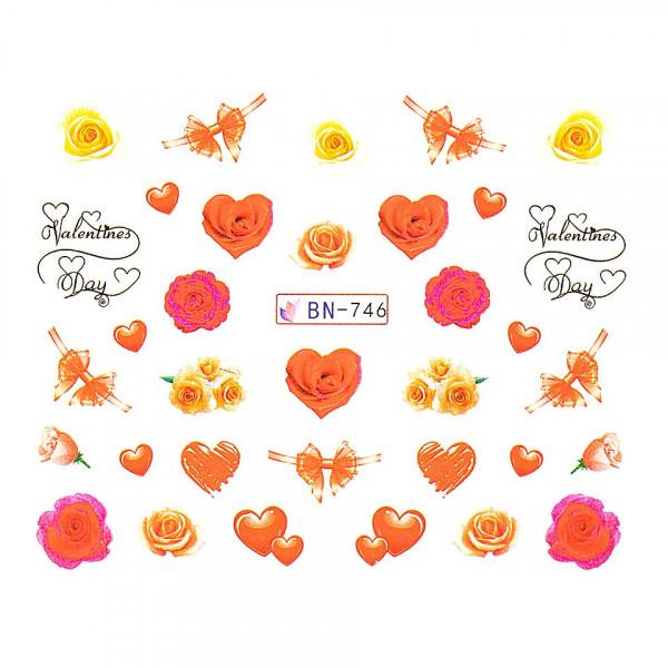 Poze Tatuaj unghii LUXORISE, Love BN-746