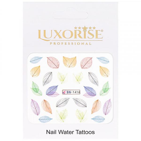 Poze Tatuaj unghii LUXORISE, Nature BN-1416