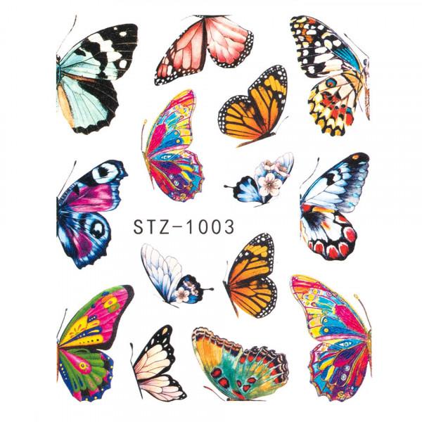 Poze Tatuaj unghii SensoPRO Summer Challenge, model STZ-1003
