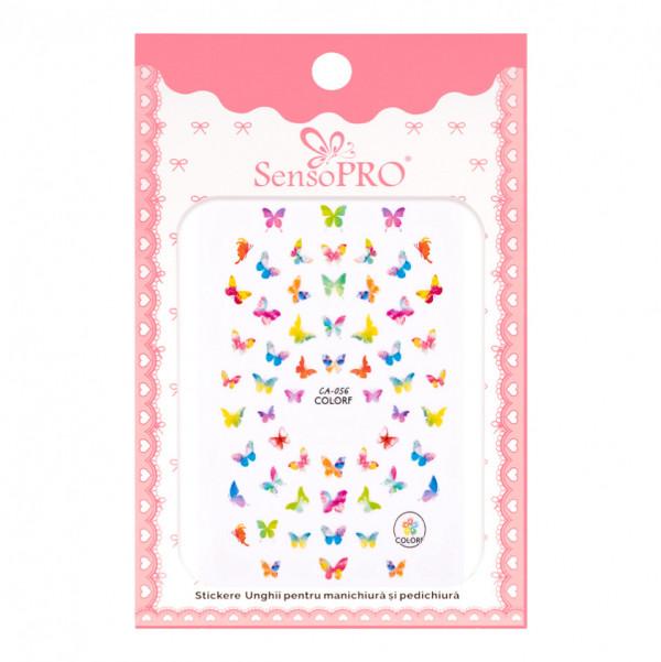 Poze Abtibilduri unghii SensoPRO Magic Butterfly, model CA056