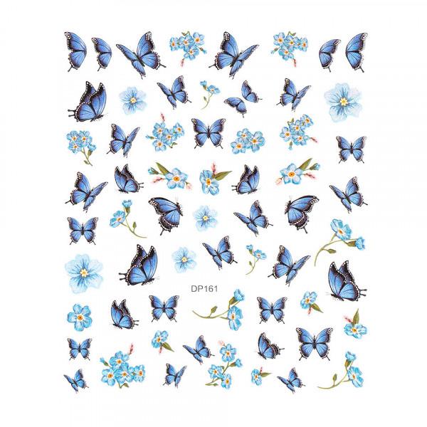 Poze Abtibilduri unghii SensoPRO Milano Butterfly, model DP161