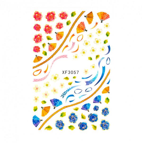 Poze Abtibilduri unghii SensoPRO Summer Challenge XF3057