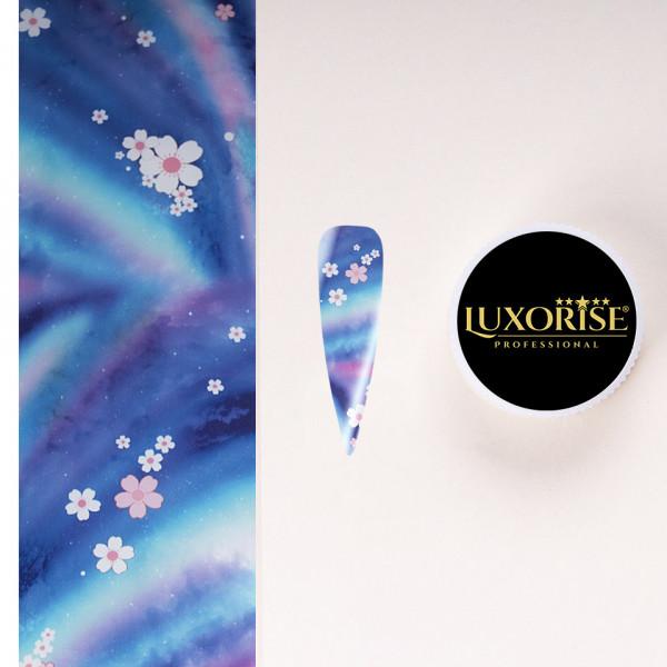 Poze Folie de Transfer Unghii LUXORISE #26-1 Flower Mania